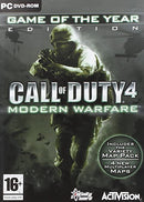 CALL OF DUTY 4 MODERN WARFARE GAME OF THE YEAR EDITION PC EDIZIONE EUROPEA MULTILINGUA ITALIANO (4591218130998)