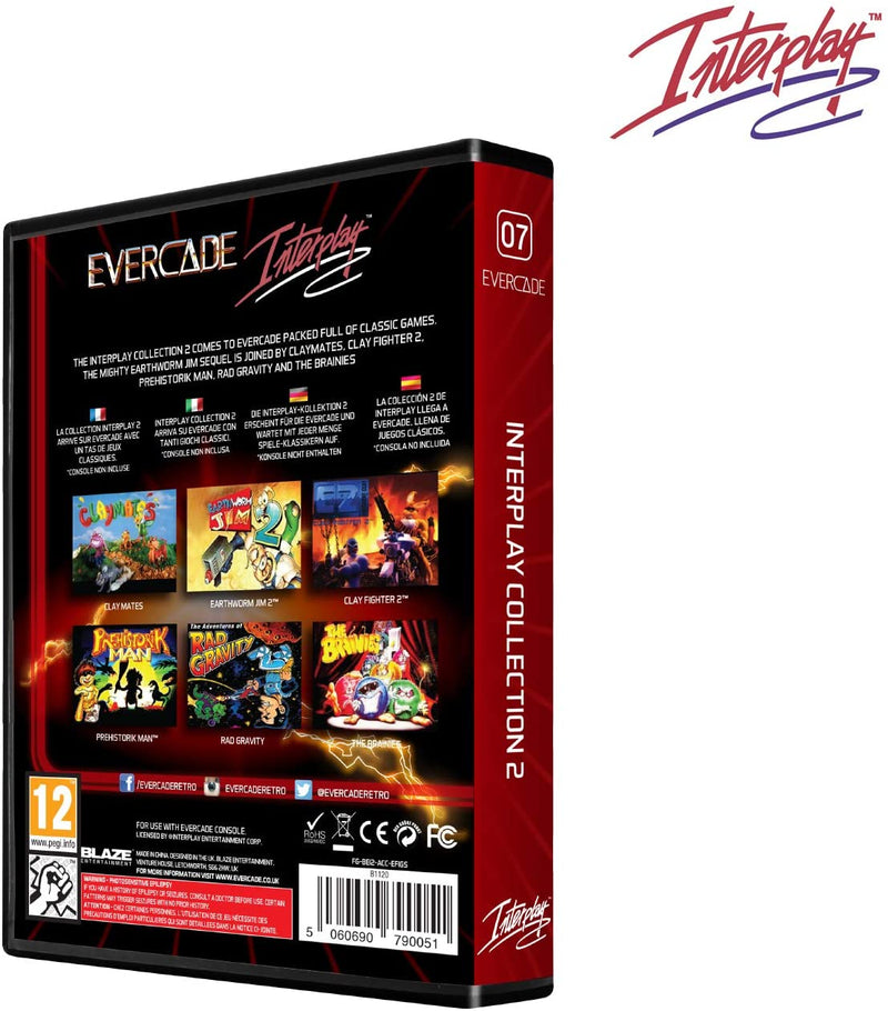 INTERPLAY COLLECTION 2 EVERCADE