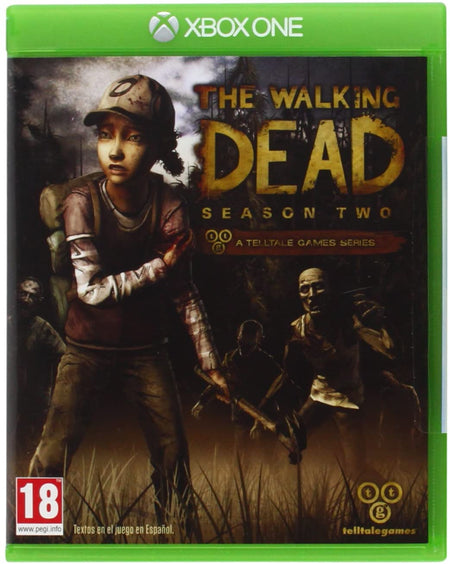 THE WALKING DEAD SEASON TWO XBOX ONE EDIZIONE ITALIANA