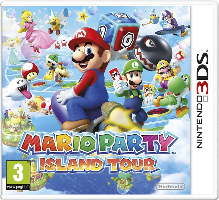 MARIO PARTY ISLAND TOUR NINTENDO 3DS EDIZIONE EUROPEA MULTILINGUA ITALIANO (4559664873526)