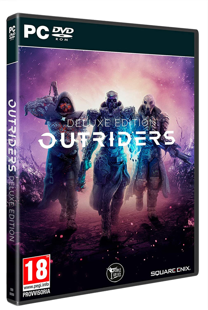 OUTRIDERS DELUXE EDITION PC GAMES EDIZIONE ITALIANA