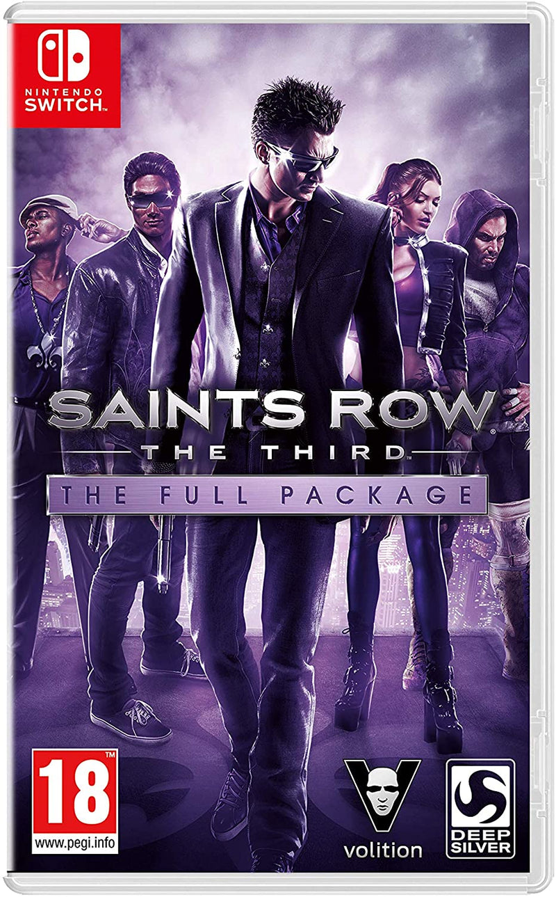 SAINTS ROW THE THIRD THE FULL PACKAGE NINTENDO SWITCH EDIZIONE REGNO UNITO