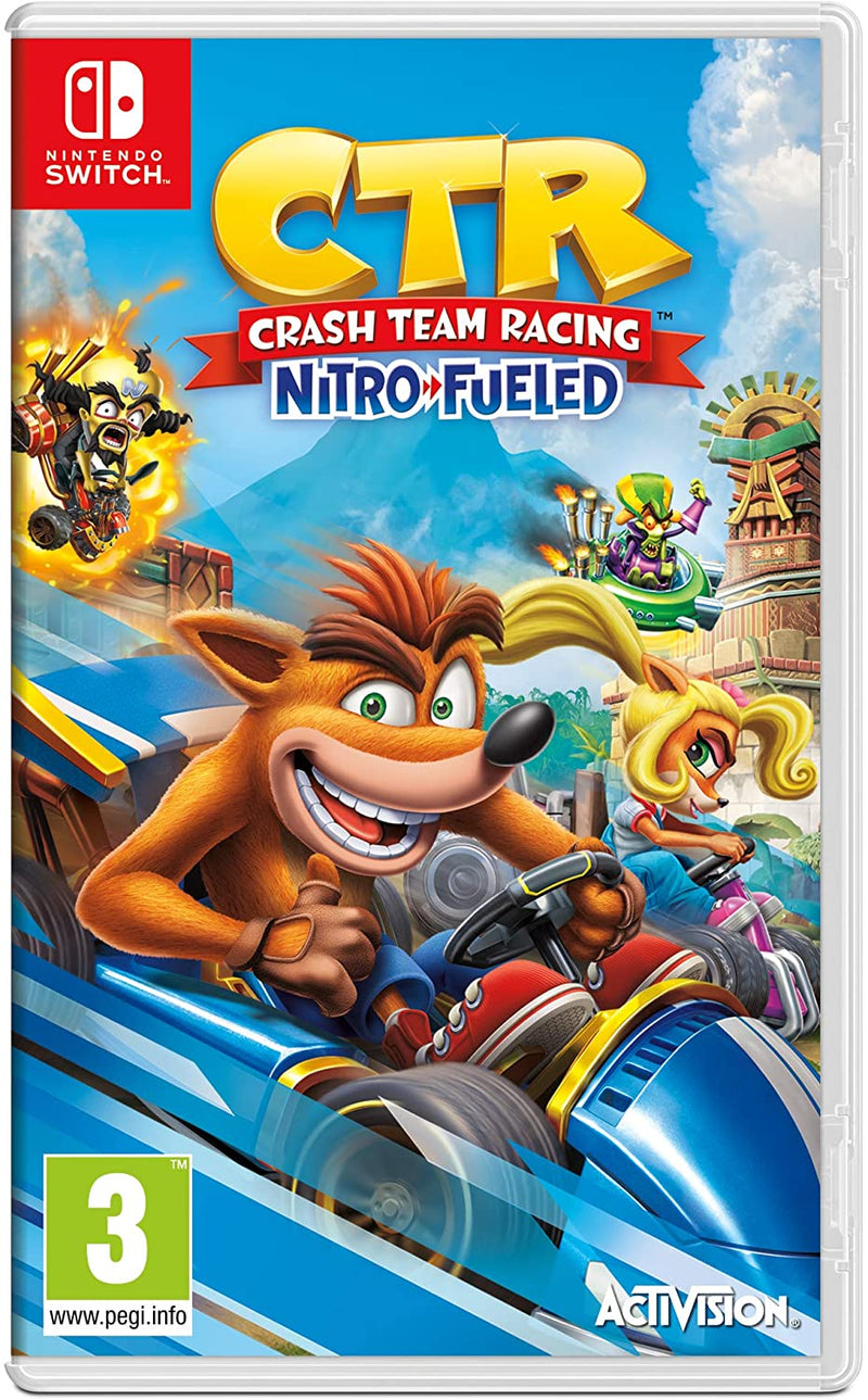 CTR CRASH TEAM RACING NITRO FUELED NINTENDO SWITCH EDIZIOEN REGN OUNITO (4529356767286)