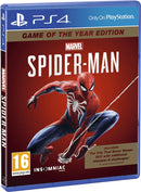 SPIDER-MAN GAME OF THE YEAR PLAYSTATION 4 EDIZIONE REGNO UNITO