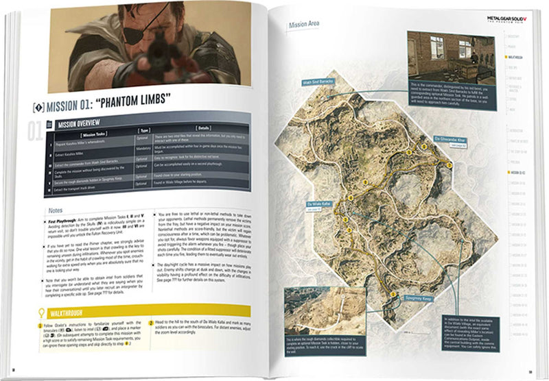 Metal Gear Solid V: The Phantom Pain: The Complete Official Guide (Inglese) Copertina rigida
