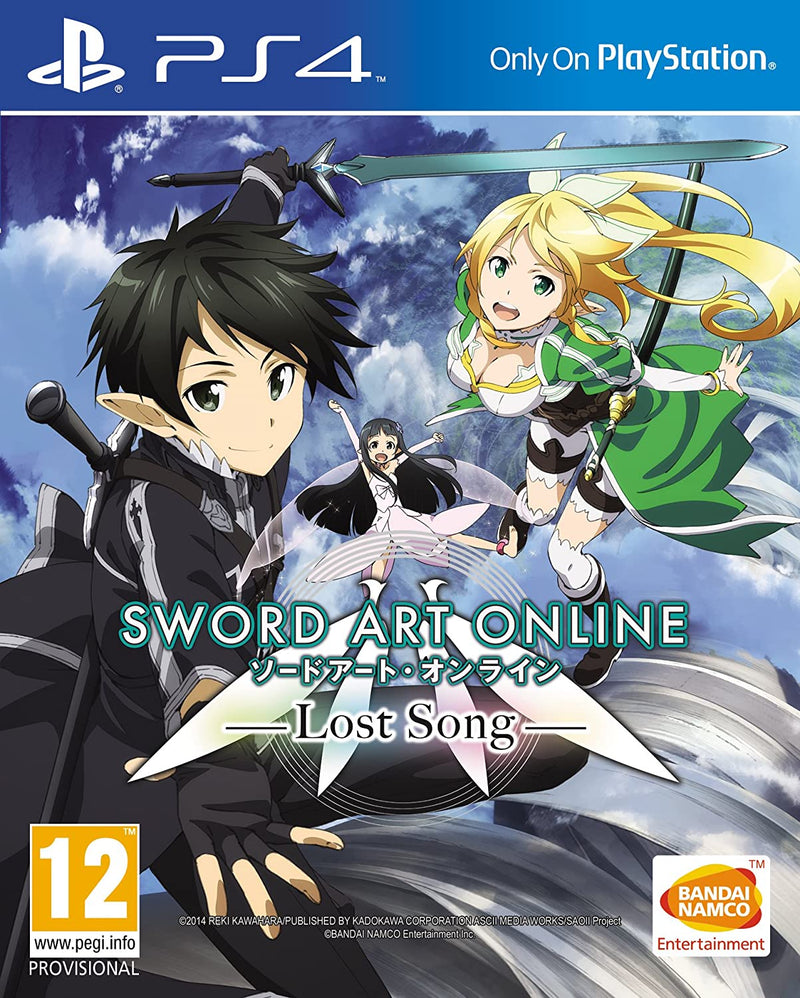SWORD ART ONLINE LOST SONG PLAYSTATION 4 EDIZIONE REGNO UNITO (4548849074230)