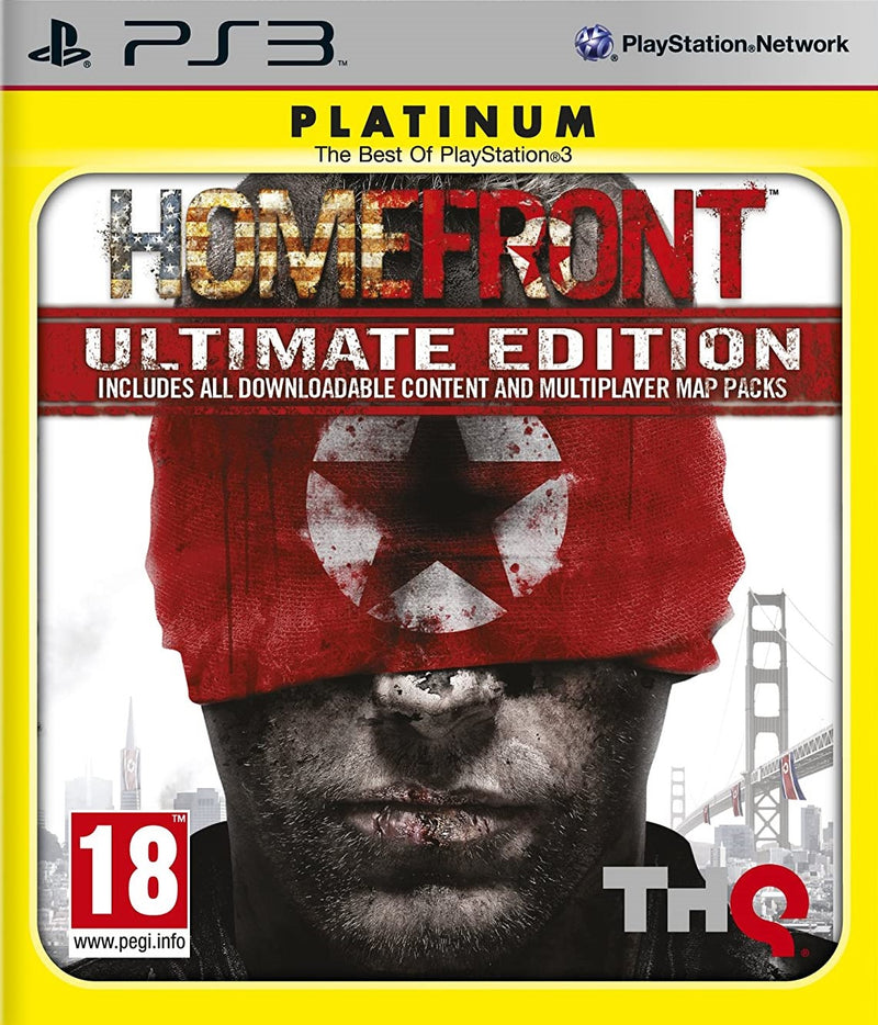 HOMEFRONT ULTIMATE EDITION PLATINUM PLAYSTATION 3 EDIZIONE ITALIANA