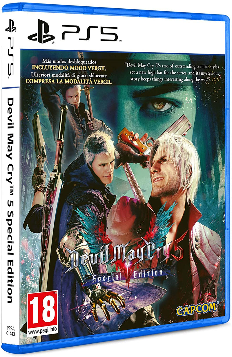 Devil May Cry 5 Special Edition - Playstation 5 EU MULTILINGUA