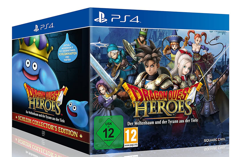 DRAGON QUEST HEROES COLLECTOR'S EDITION PLAYSTATION 4 EDIZIONE TEDESCA