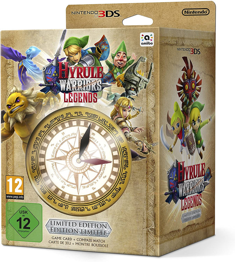 HYRULE WARRIORS LEGENDS - LIMITED EDITION - NINTENDO 3DS EDIZIONE EUROPEA