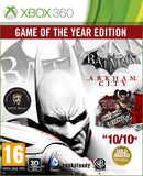 BATMAN ARKHAM CIYY GAME OF THE YEAR EDITION XBOX 360
