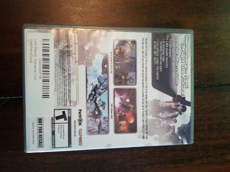 LOST PLANET EXTREME CONDITION COLONIES EDITION XBOX 360 (versione americana)