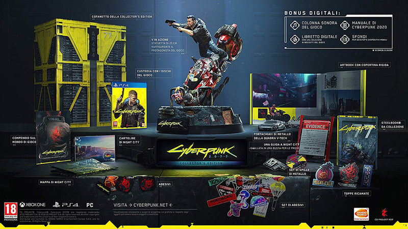 CYBERPUNK 2077 - COLLECTOR'S EDITION PLAYSTATION 4 EDIZIONE ITALIANA