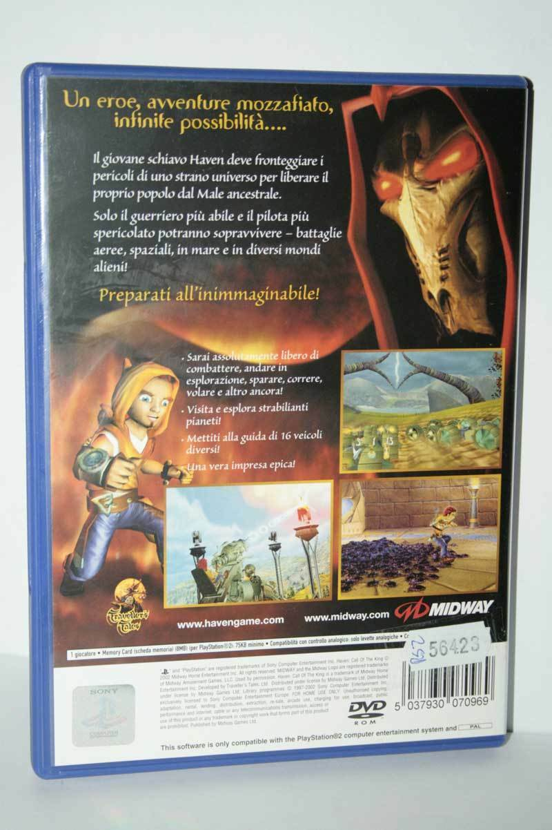 HAVEN: CALL OF THE KING PS2 (4599543529526)