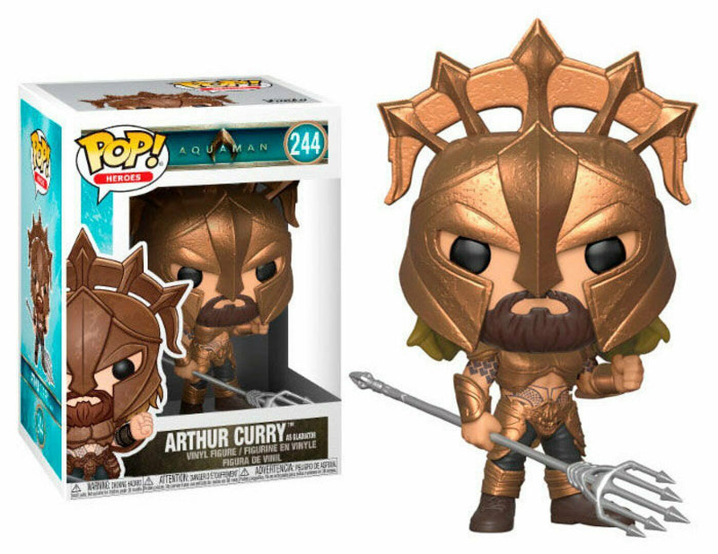 POP! FUNKO 244 ARTHUR CURRY