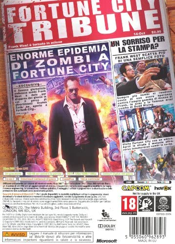 DEAD RISING 2 OFF THE RECORD XBOX 360 EDIZIONE ITALIANA (4574267932726)