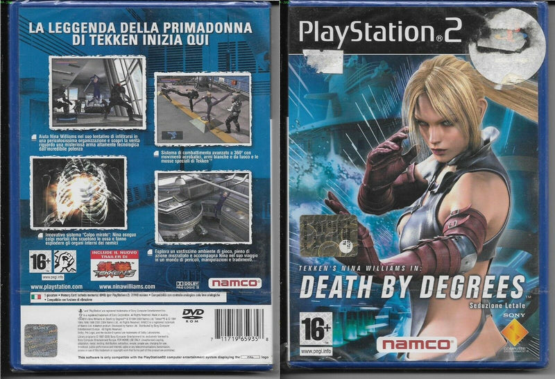 DEATH BY DEGREES SEDUZIONE LETALE PS2