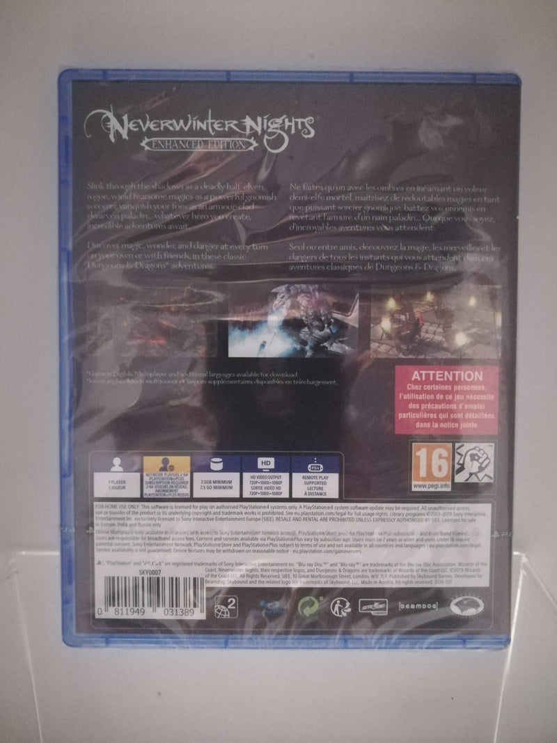 NEVERWINTER NIGHTS ENHANCED EDITION PS4 (4902349340726)
