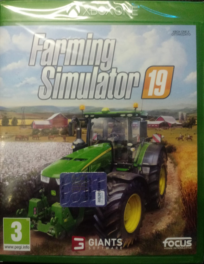 FARMING SIMULATOR 19 XBOX ONE VERSIONE ITALIANA (4552643674166)