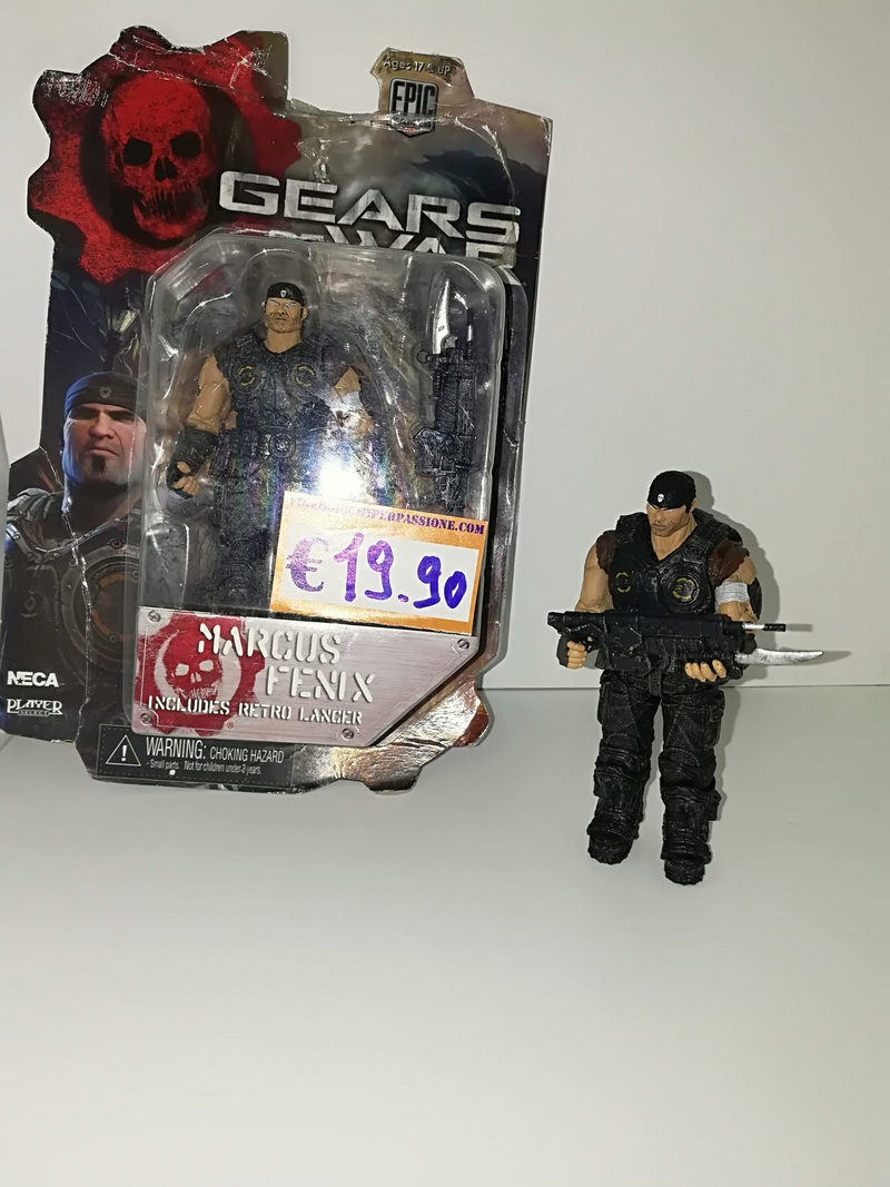 GEARS OF WAR MARCUS FENIX FIGURE (10cm)