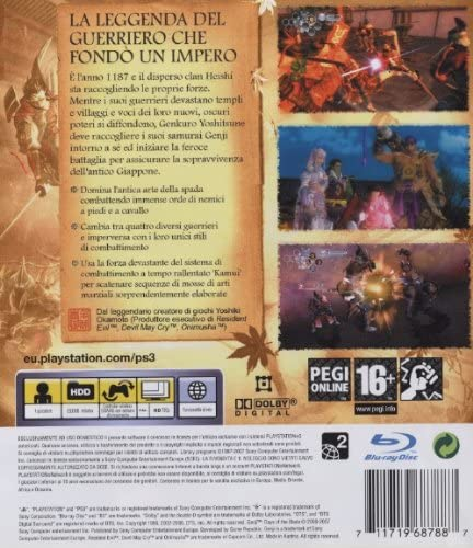GENJI: DAYS OF THE BLADE PS3 (versione italiana) (4632745410614)