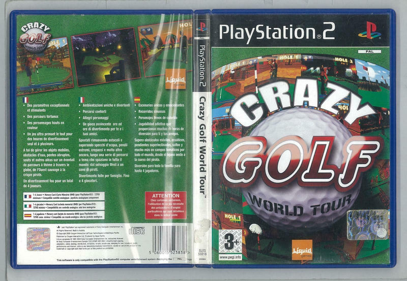 CRAZY GOLF WORLD TOUR PS2
