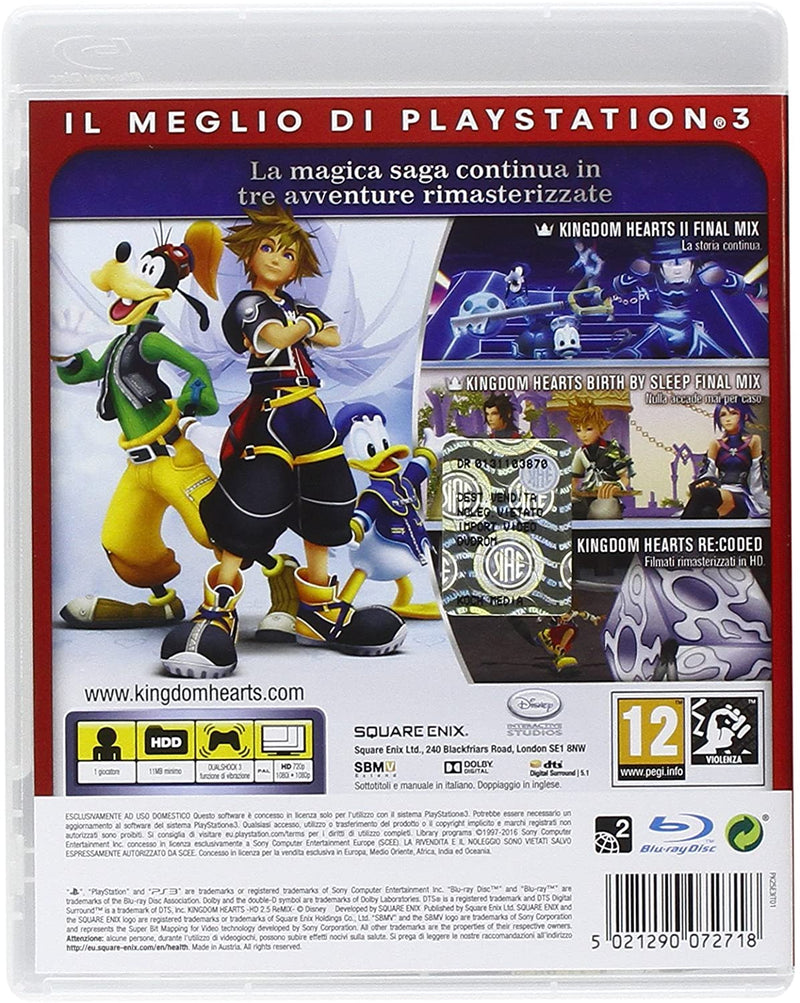 KINGDOM HEARTS HD 2.5 REMIX PLAYSTATION 3 EDIZIONE ITALIANA