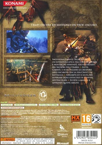 CASTLEVANIA LORDS OF SHADOW XBOX 360 (versione italiana)