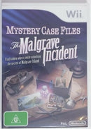 MYSTERY CASE FILES THE MALGRAVE INCIDENT NINTENDO WII EDIZIONE AUSTRALIANA