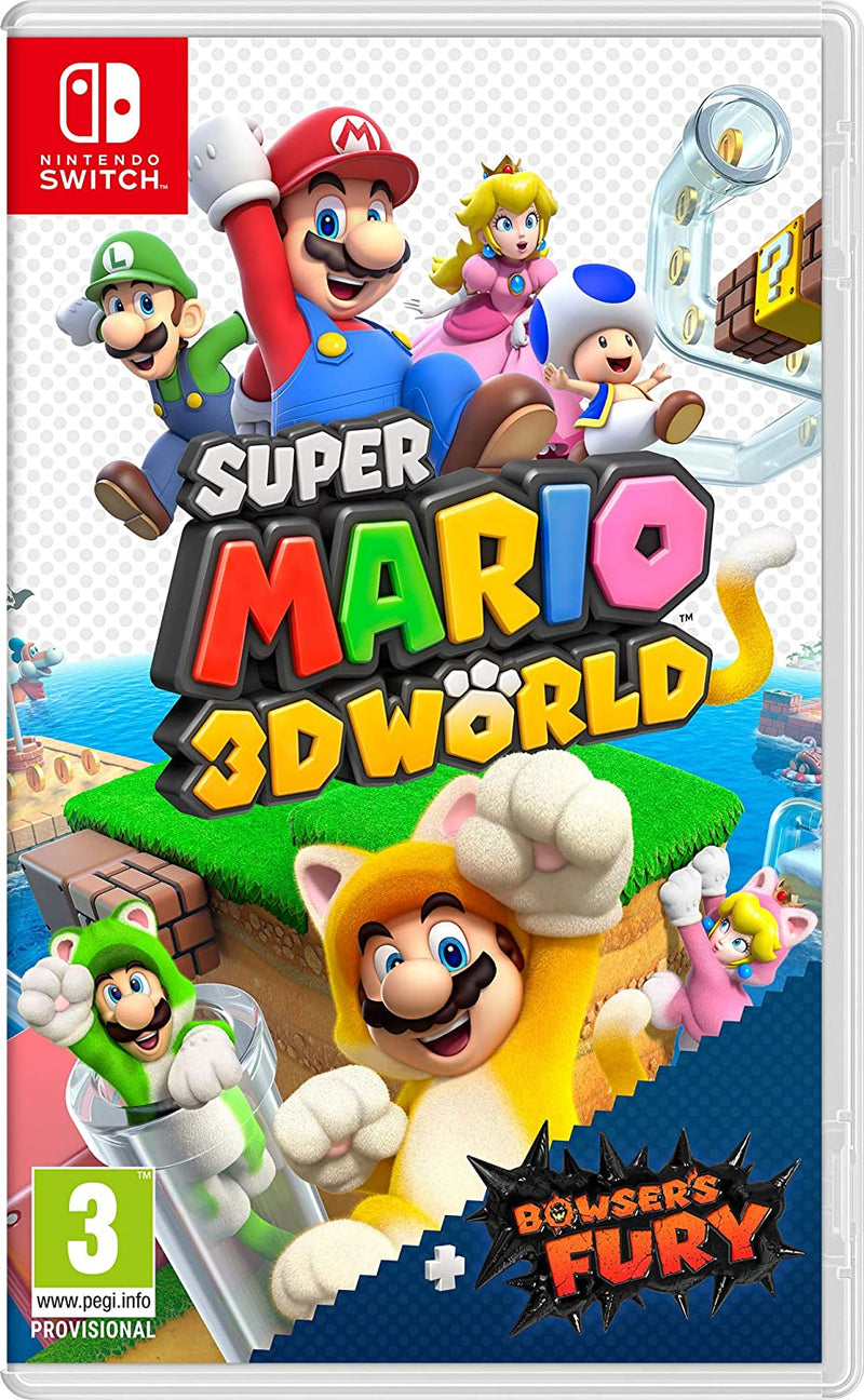 SUPER MARIO 3D WORLDS + BOWSER'S FURY NINTENDO SWITCH EDIZIONE ITALIANA (4791039754294)