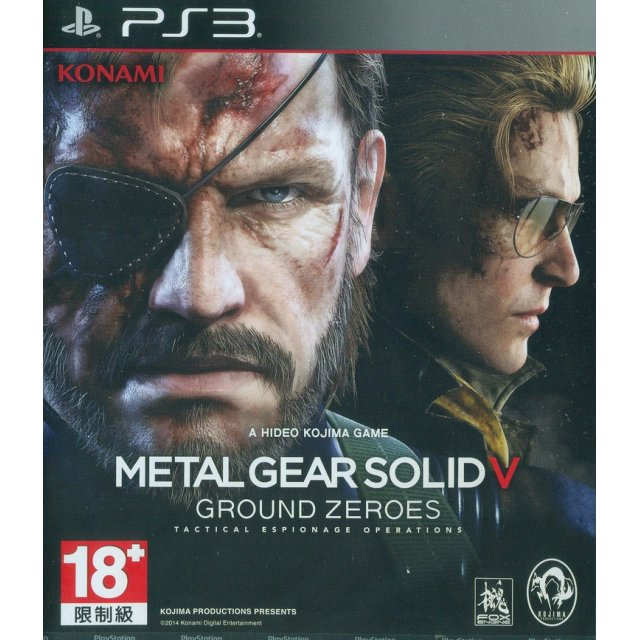 METAL GEAR SOLID V: GROUND ZEROES PS3 (versione japan)
