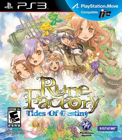 RUNE FACTORY TIDES OF DESTINY PLAYSTATION 3 EDIZIONE AMERICANA