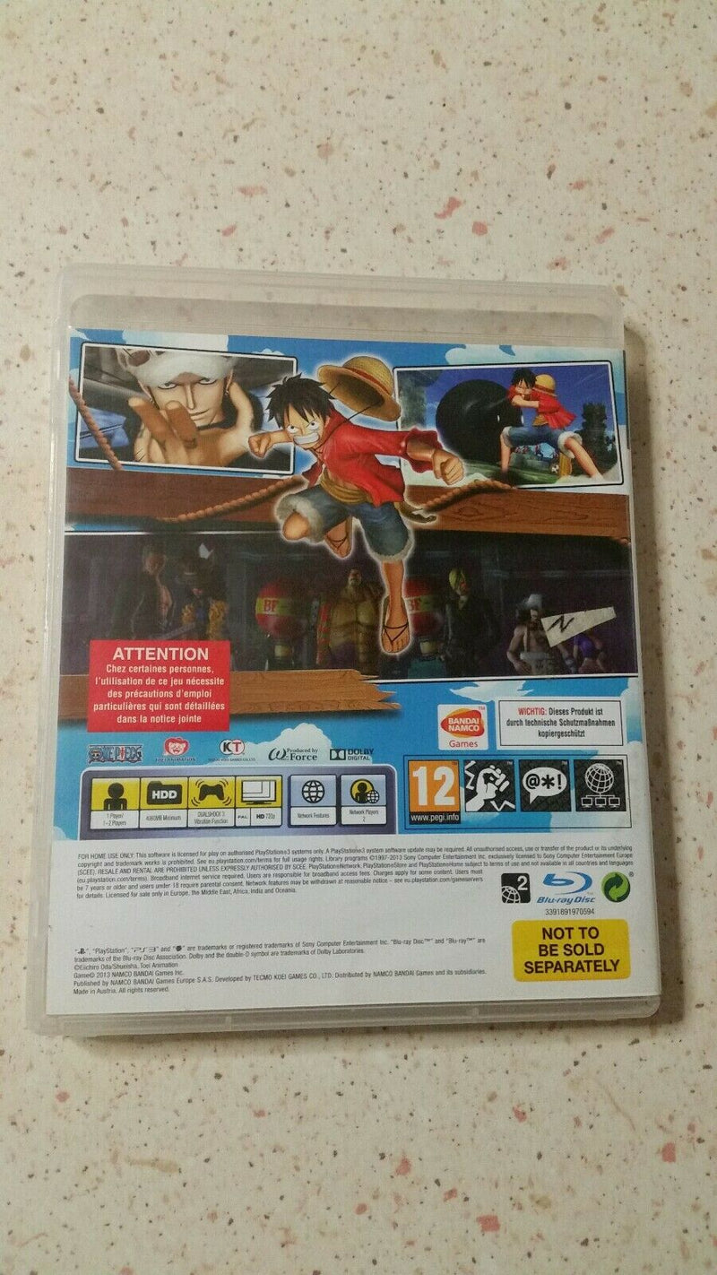 ONE PIECE :PIRATE WARRIPRS 2 PS3