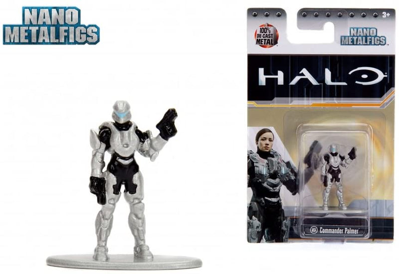 NANO METAL FIGS HALO COMMANDER PALMER