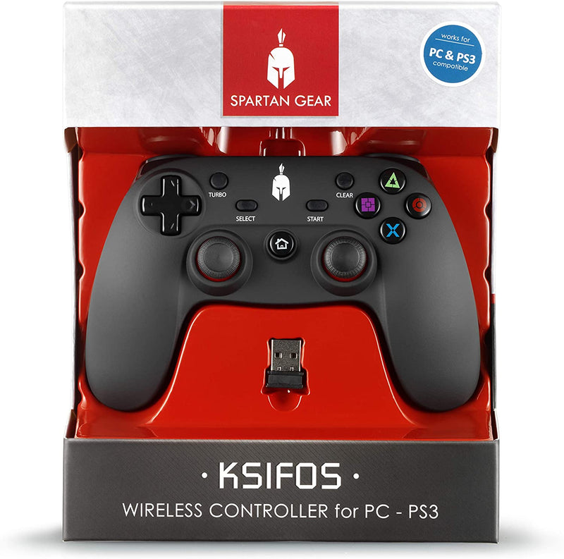 CONTROLLER PAD WIRELESS CONPATIBILE PS3 & PC (4591480504374)