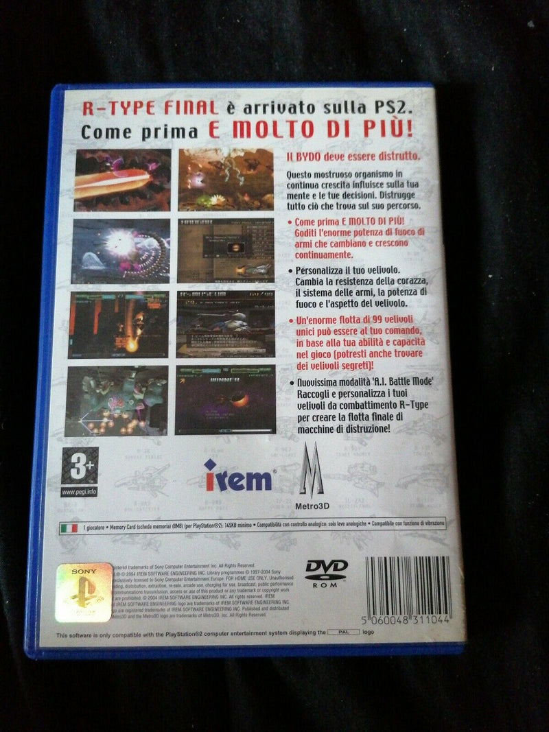 R- TYPE FINAL PS2