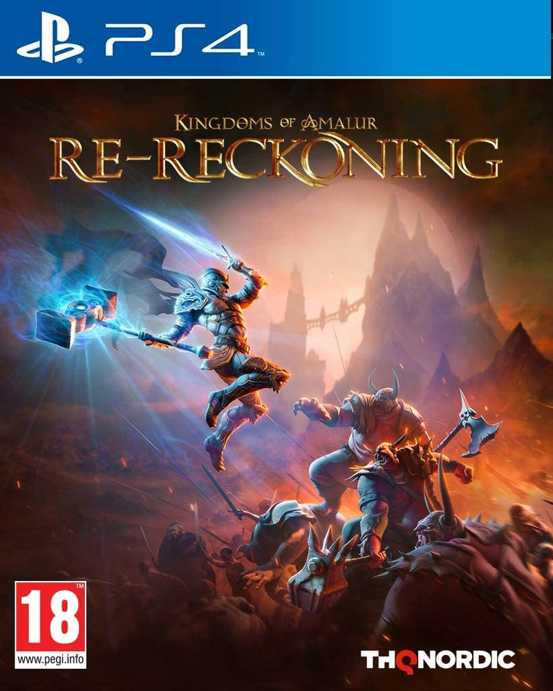 KINGDOM OF AMALUR  RE - RECKONING  PS4