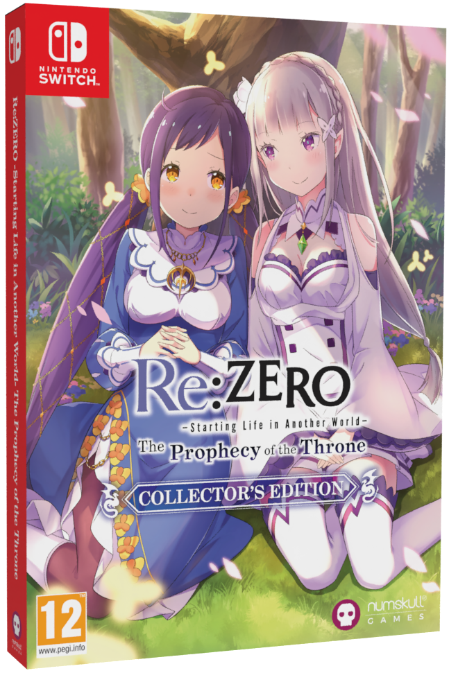 Re:ZERO − Starting Life in Another World The Throne Of Prophecy Collector's Edition Nintendo Switch