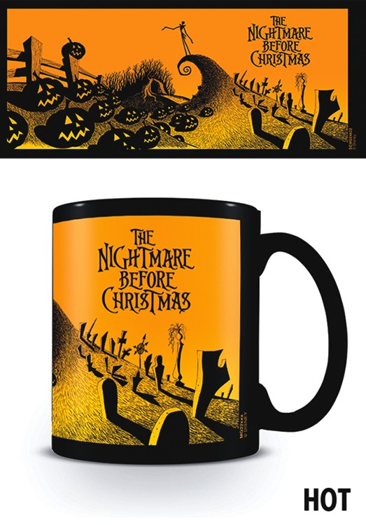 Tazza Magic Mug  Nightmare Before Christmas