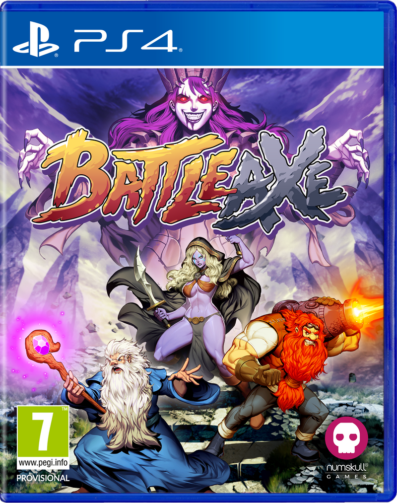 Battle Axe Playstation 4 Edizione Regno Unito (4636830335030)