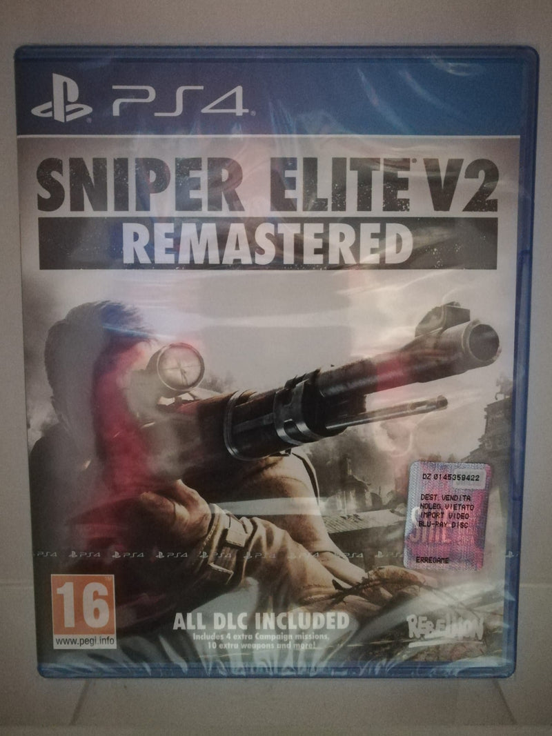 SNIPER ELITE V2 REMASTERED PS4 (versione europea)