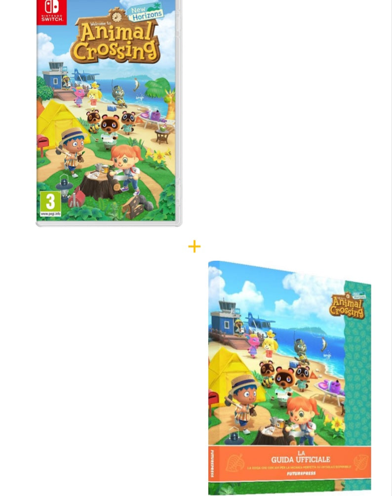 ANIMAL CROSSING NEW HORIZONS - LA GUIDA UFFICIALE ITALIANA (4550272745526)