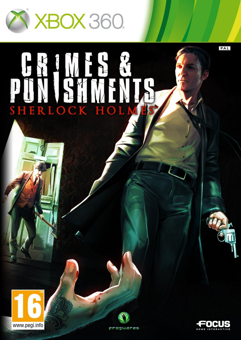 CRIMES & PUNISHMENTS SHERLOCK HOLMES XBOX 360 EDIZIONE ITALIANA