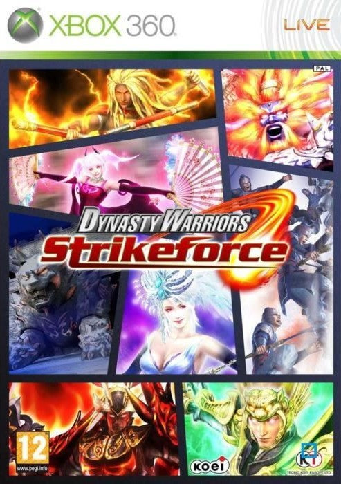 DYNASTY WARRIORS STRIKEFORCE XBOX 360 EDIZIONE ITALIANA