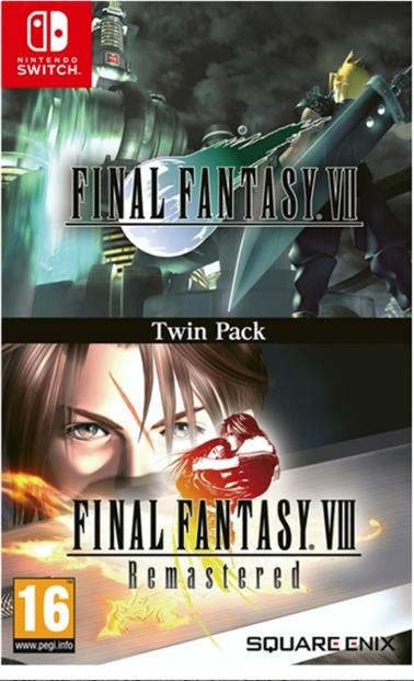 FINAL FANTASY 7 - FINAL FANTASY 8 REMASTERED NINTENDO SWITCH EDIZIONE REGNO UNITO