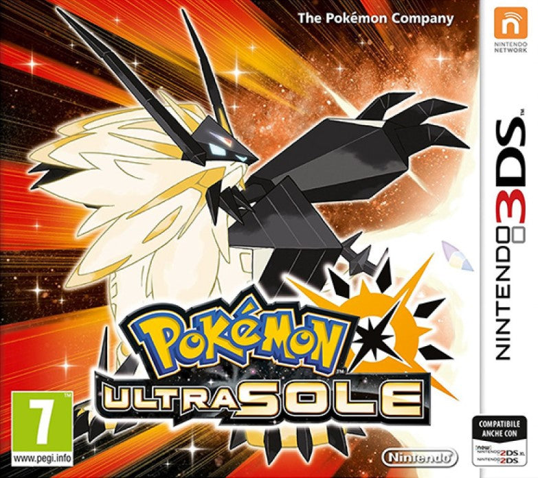 POKEMON ULTRA SUN NINTENDO 3DS EDIZIONE EUROPEA MULTILINGUA ITALIANO (4574201544758)