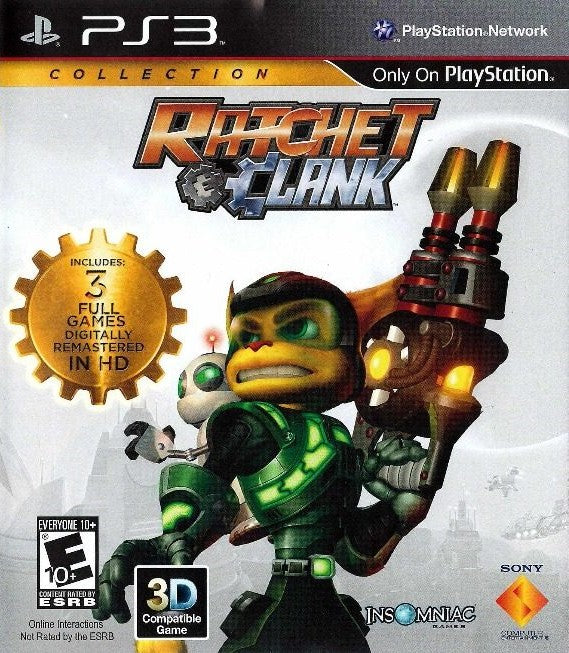 RATCHET E CLANK COLLECTION PLAYSTATION 3 EDIZIONE AMERICANA