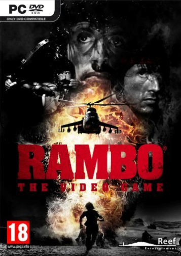 RAMBO THE VIDEO GAME PC EDIZIONE EUROPEA MULTILINGUA ITALIANO
