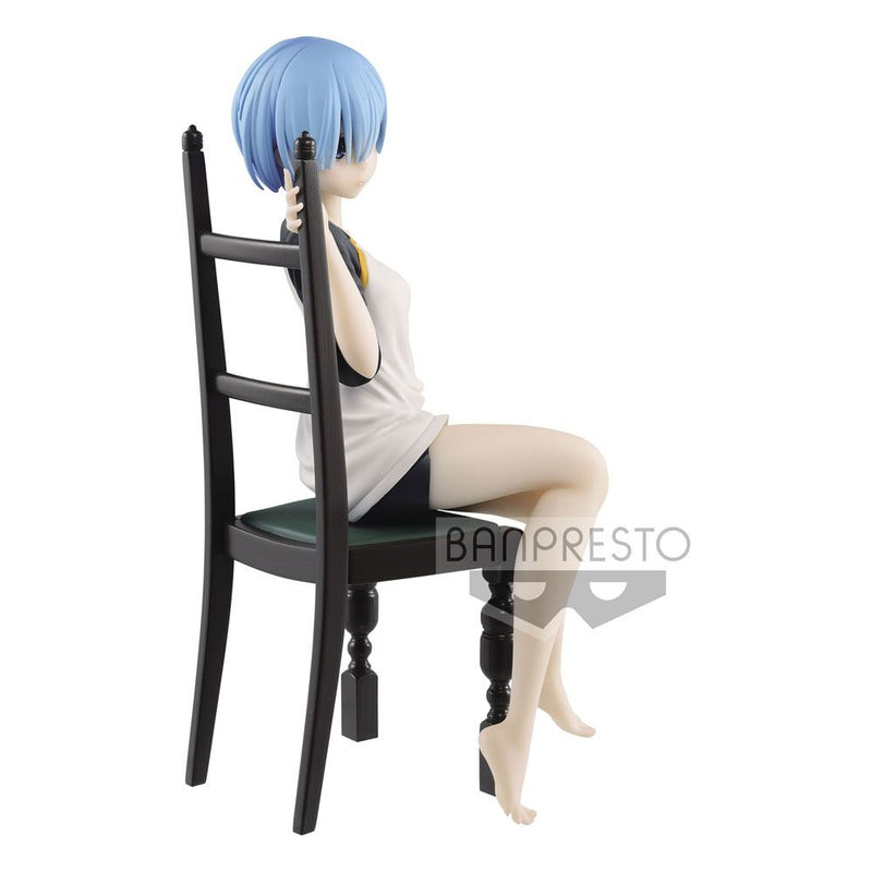 Re: Zero Starting Life in Another World PVC Statue Rem Relax Time T-Shirt Ver. 20 cm (4897177042998)