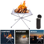 Load image into Gallery viewer, 2020 UPGRADE PORTABLE OUTDOOR FIRE PIT 2.0